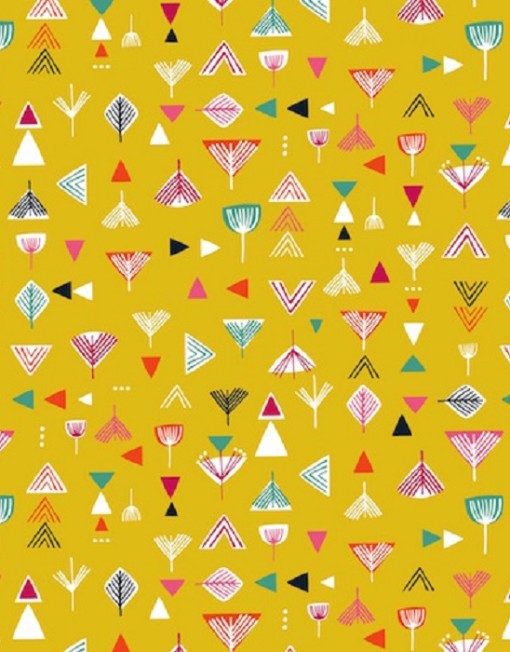 Dashwood Studios Geometrics on Mustard