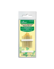 Clover Gold Eye Embroidery Needle