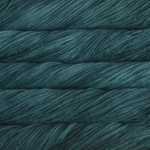 malabrigo Rios Teal feather yarn