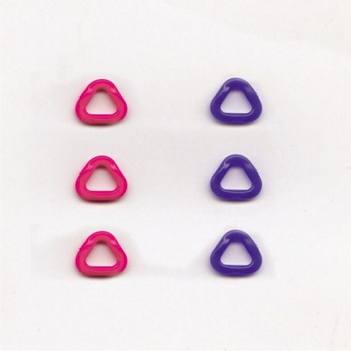 Clover Stitch Markers Triangle Extra Small
