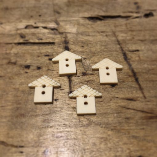 Button Wooden Houses