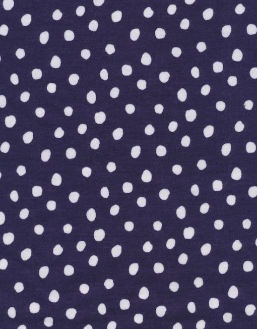 Cloud 9 Knits Spots Navy
