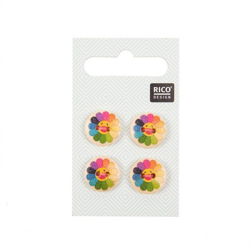 rico-colorful-buttons-with-sunflowers