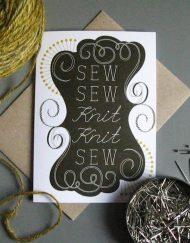 TillyFlop sew sew knit knit