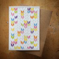 TillyFlop stocking stitch bright colours