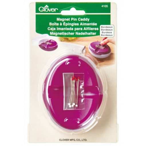 clover magnet pin caddy bordeaux