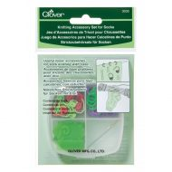 Clover knitting accessory set socks