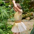 Lotte Martens plisse-limonium-gold
