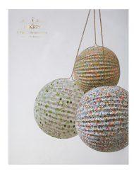Meri Meri Liberty Paper Globes