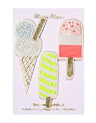 Meri Meri Iron On Patch Popsicles