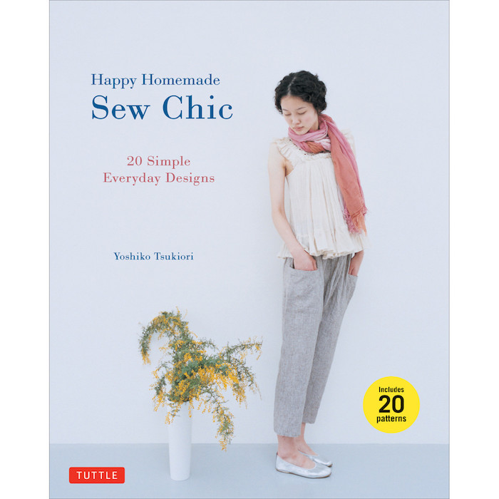 Happy Homemade: Sew Chic - Yoshiko Tsukiori | Cross and Woods