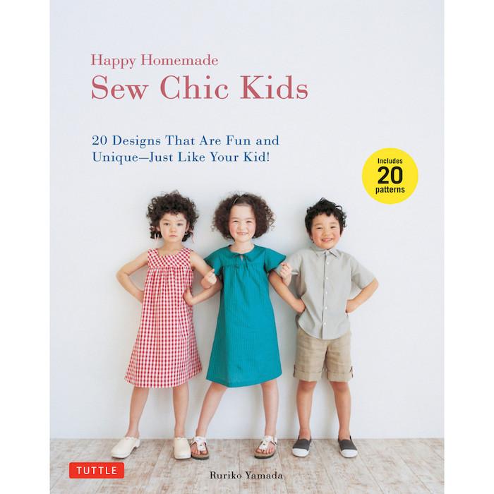 Happy Homemade: Sew Chic Kids - Ruriko Yamada   Cross and Woods