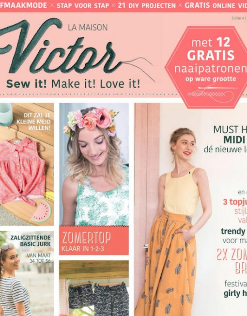 La Maison Victor Magazine, editie 4 jul-aug 2017