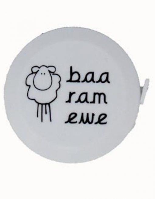 Baa ram ewe tape measure