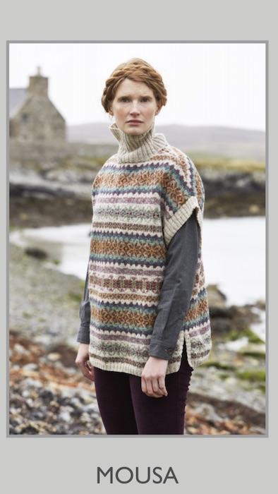 Shetland Marie Wallin Cross And Woods
