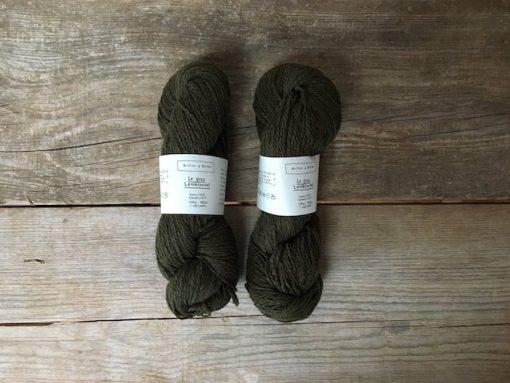 Biches & Bûches le gros lambswool dark green