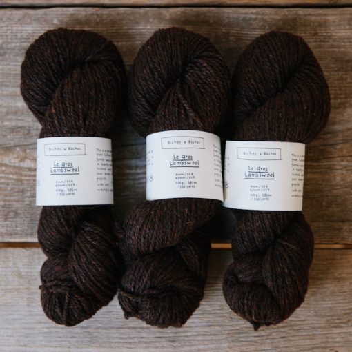 Biches-le-gros-lambswool-dark brown