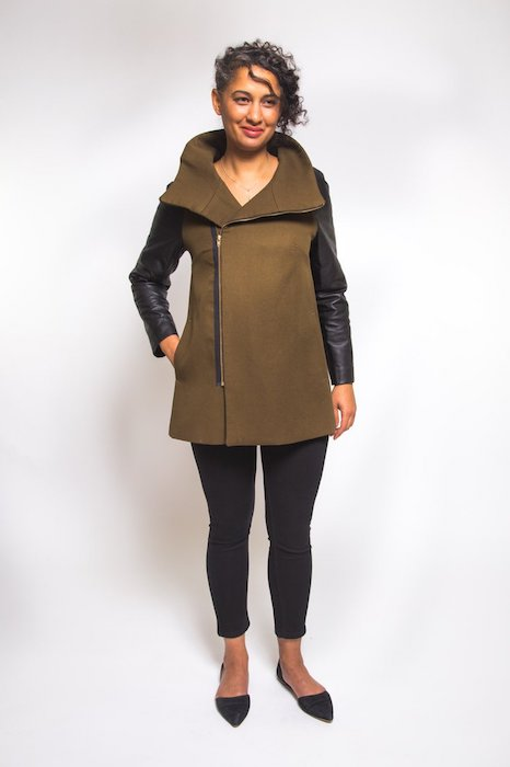 Closet Case Clare Coat Pattern Coat