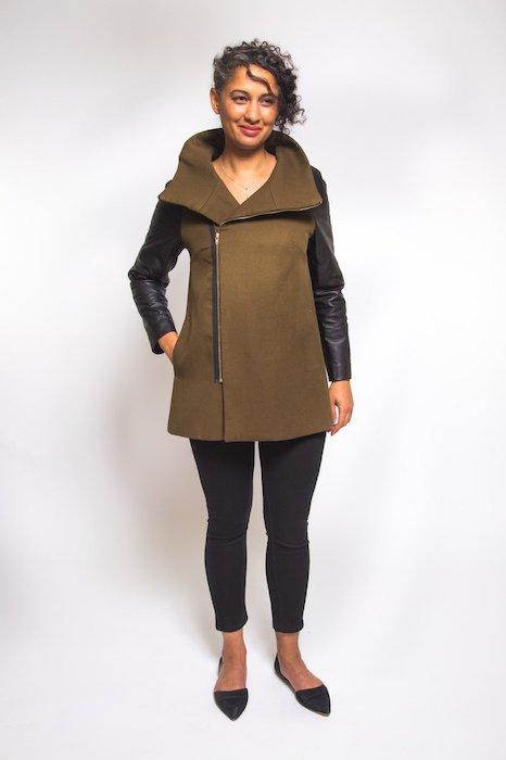 Closet Case Clare Coat Pattern Coat