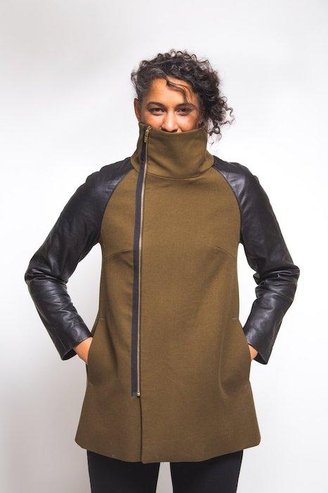 Closet Case Clare Coat Pattern Coat c
