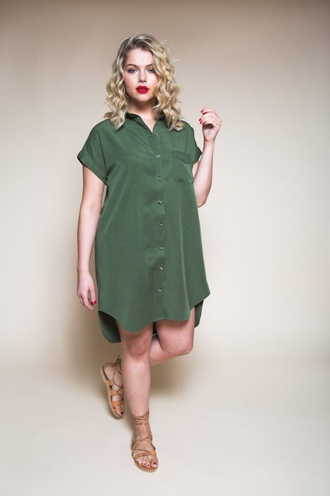 Closet cases Kalle Shirt-dress Pattern