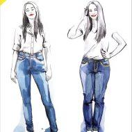Ginger Jeans Closet case