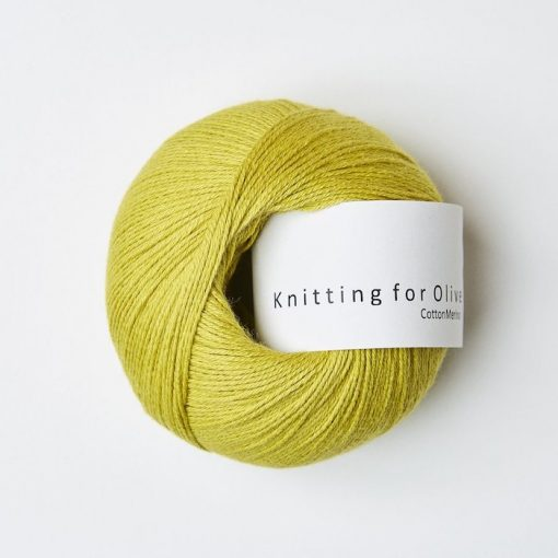Knitting for olive CottonMerino citron yarn