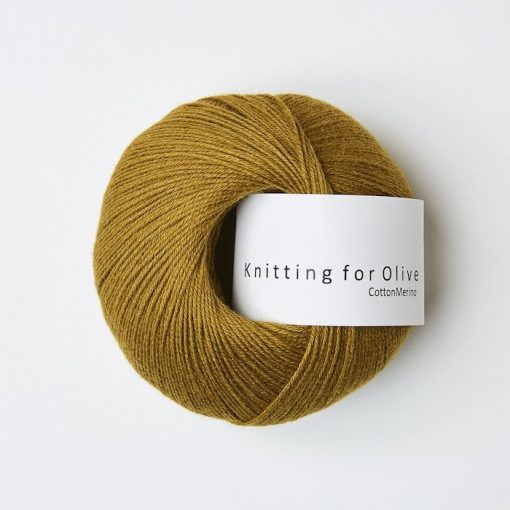 Knitting for olive CottonMerino morkokker yarn