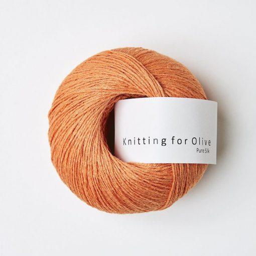 Knitting for olive PureSilk appelsin yarn