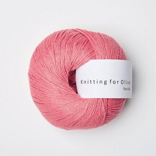 Knitting for olive hindbaerpink yarn