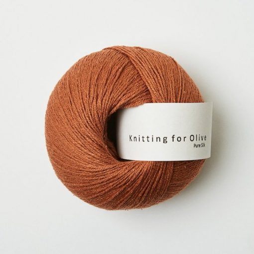 Knitting for olive puresilk kobber yarn