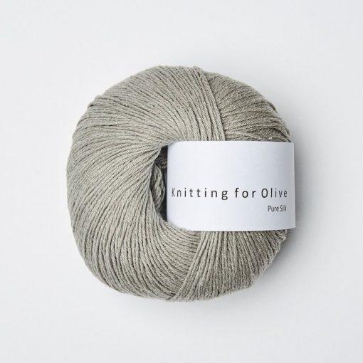 Knitting for olive pure silk lammeorer yarn