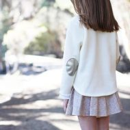 Megan Nielsen Mini Briar Sweater and Tshirt