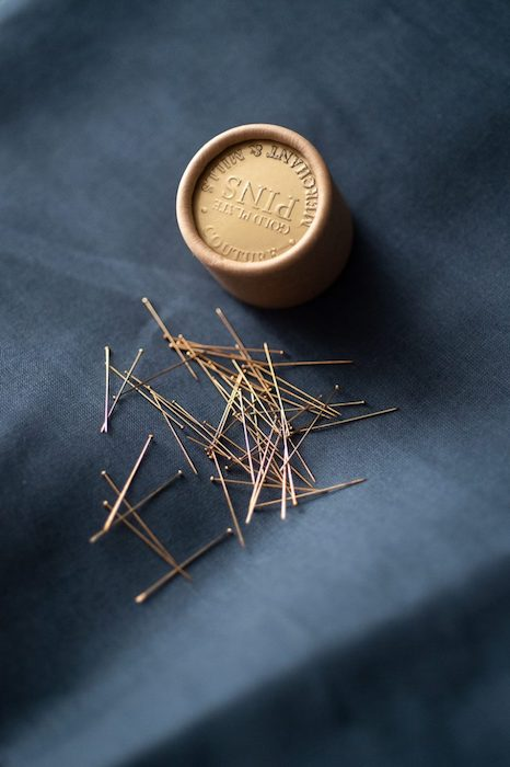 Merchant & Mills Coutre Gold Plated Pins