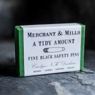 Merchant & Mills Fine Black Safety Pins