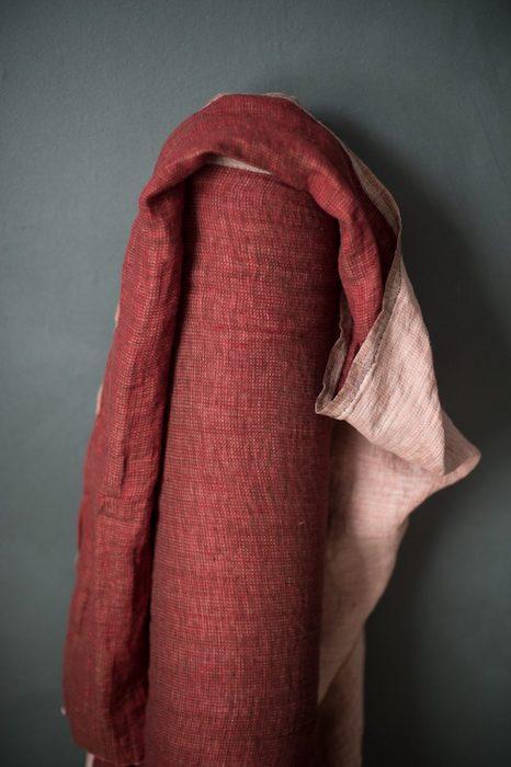 Merchant & Mills - Strawberry Pip EU Laundered Linen