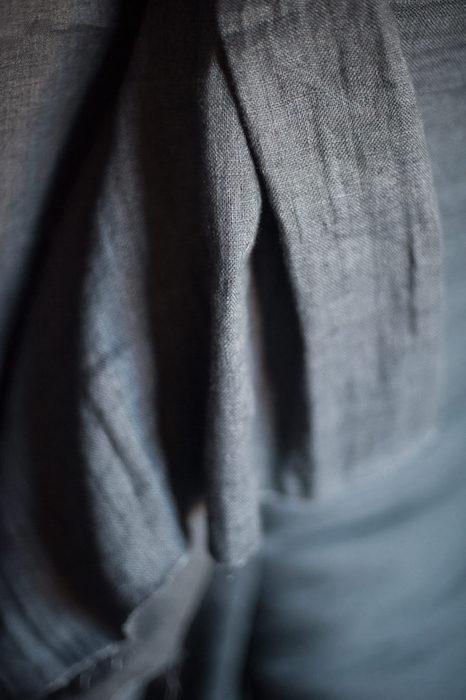 Merchant & Mills - Woolsey Scuttle Black EU Linen:Wool 2