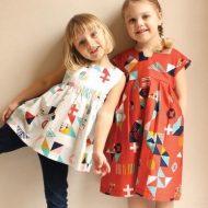 Rae Patterns Geranium Dress