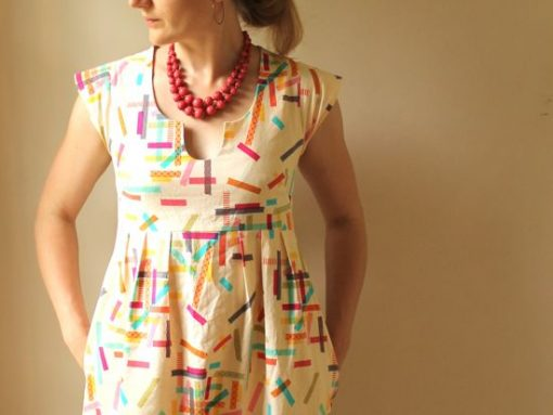 Rae Patterns Washi Dress