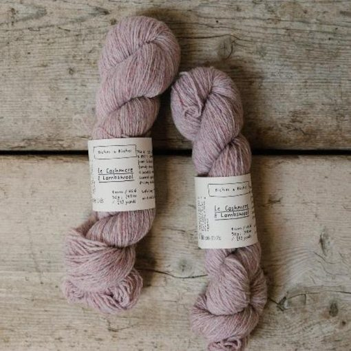 Biches & Bûches Le Cashmere & Lambswool light pink