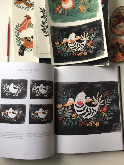maging a Forest, Designs and Inspirations for Enchanting Ffolk Art - Dinara Mirtalipova