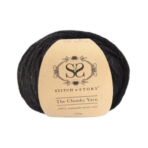 Stitch & Story Chunky black