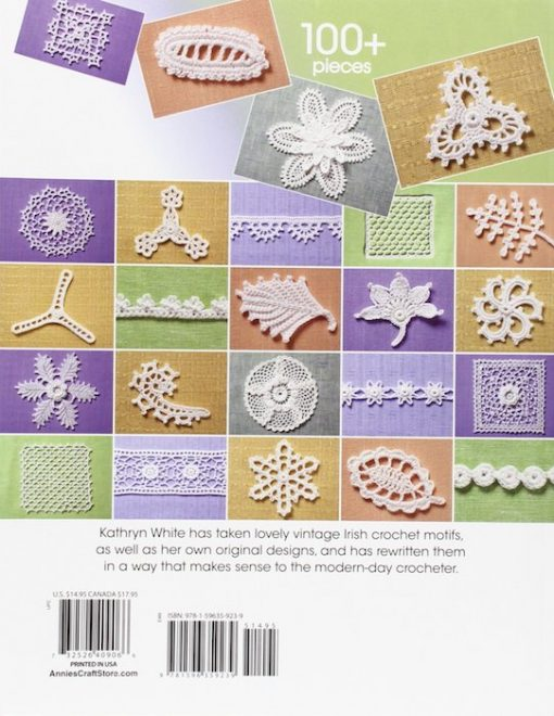 The Go to Book for Irish Crochet Motifs - Kathryn White