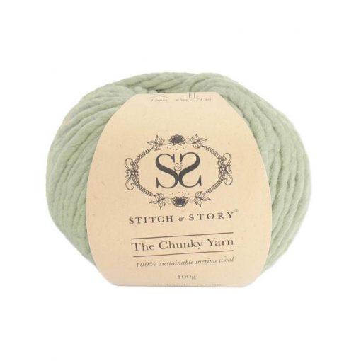stitch & Story Chunky Olive Pastel