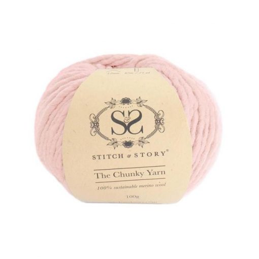 stitch & Story Chunky rose quartz