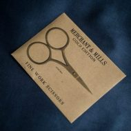 Merchant & Mills Fine Work Scissors Gold Edition 1