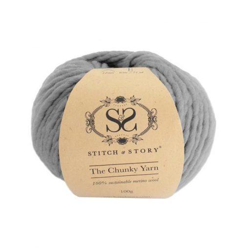 Stitch & Story Chunky Stormy Grey