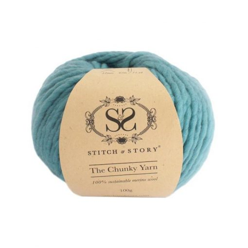 Stitch & Story Chunky Stone teal