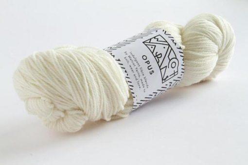 Walcot Yarns Opus Splashed White