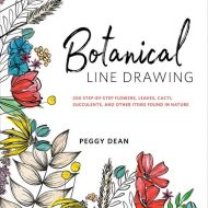 Botanical Line Drawing Peggy Dean